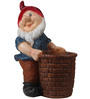 Wonderland Gnome with Red Cap Pot