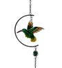 Wonderland Hanging Bird Chime Long Decoration in Metal