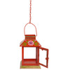 Wonderland Lantern with Matching Hanging Chain in Orange