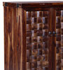 Woodway Bar Cabinet in Provincial Teak Finish by Woodsworth