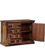 Woodway Sideboard in Provincial Teak Finish by Woodsworth