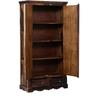 Woodway Wardrobe in Provincial Teak Finish by Woodsworth