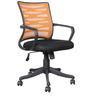 Workstation Ergonomic Chair in Orange Colour by Parin
