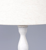 Worrall Table Lamp in Beige by Amberville