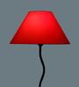 Yashasvi Orange Poly Cotton Lamp Shade