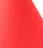 Yashasvi Red Poly Cotton Lamp Shade