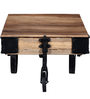 Yatela Solid Wood Coffee Table in Natural Finish by Bohemiana