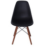 Yemon Accent Chair (Set of 2) in Black Colour by Mintwud