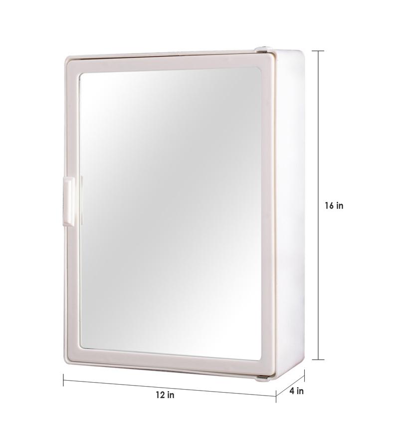 Buy zahab classic bathroom cabinet medium white online for Zahab bathroom cabinets