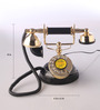 Abo Retro Telephone in Black by Amberville