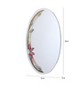 Avice Bath Mirror in Multicolour by Amberville