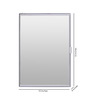 Francis Bathroom Cabinet in White by CasaCraft