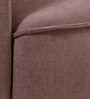 Zaira One Seater Sofa in Earthy Brown Colour by Evok