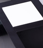 Zen Coffee Table in White & Black Colour by Evok