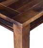 Zillah Four Seater Dining Table in Provincial Teak Finish by Woodsworth
