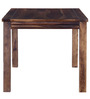 Hays Six Seater Dining Table in Provincial Teak Finish by Woodsworth