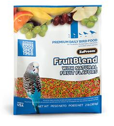 Zupreem Fruit Blend Daily Bird Food Small 907Gms