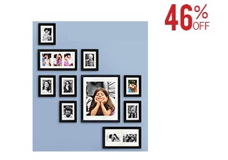 Collage of 13 Photo Frames