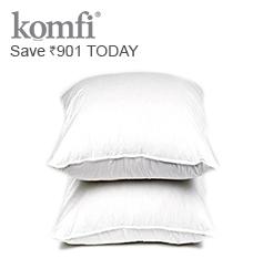 Set of 2 Premium Cotton Pillows