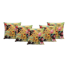 Sriam Set of 5 Cotton Cushion Covers