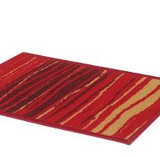 Bianca Door Mat In Red And Beige