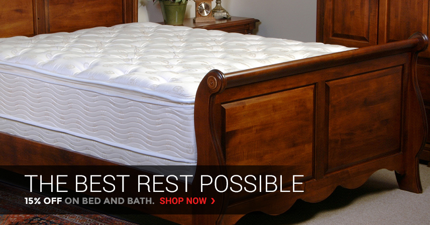The best rest possible | 15% Off on Bed & Bath